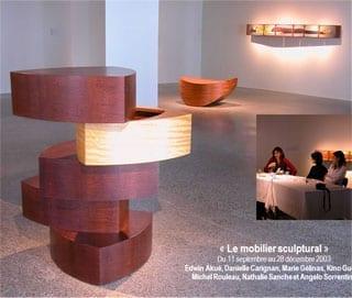 2003 09 MobilierSculptural