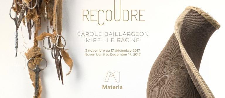 Recoudre – Carole Baillargeon et Mireille Racine